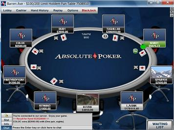 absolute poker free money no deposit